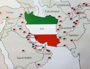 U.S.  bases surrounding Iran