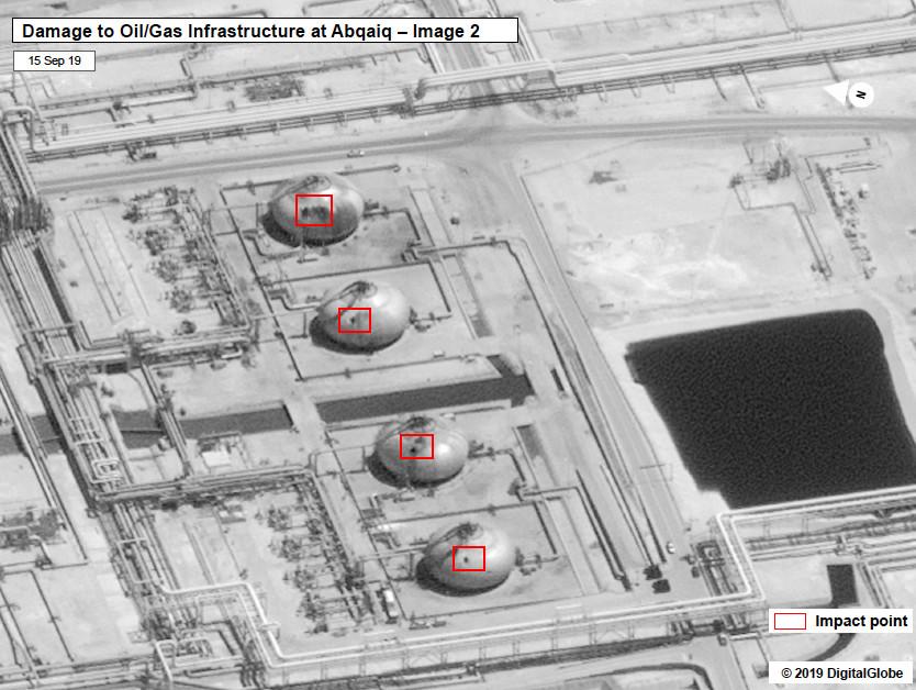 Saudi oil refinery drone hit