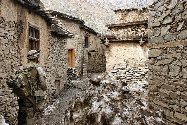 3rd U.S. Battalion in rural Afghanistan