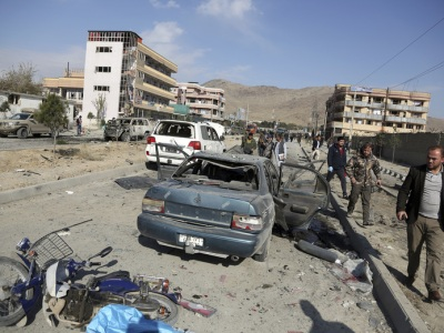 Car droned by U.S. in Kabul-(Seattle Times)